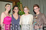FASHION: Walking the catwalk at the Kerry Week -End Fashion Show in The Manor West Hotel, Tralee on Saturday l-r: Karen O'Connor, Aifric Rice, Annee Madmanogu and Andrea Collins. ..