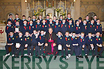Pupils from Scoil Mhuire National School, Millstreet, who were confirmed in Millstreet last Friday.