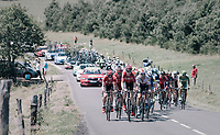 Only 26 km's into the race &amp; Marcel Sieberg (DEU/Lotto-Soudal) paces a 2nd peloton that got dropped earlier with some big-name sprinters in there: Kittel, Bouhani, Greipel,...<br /> <br /> 104th Tour de France 2017<br /> Stage 16 - Le Puy-en-Velay &rsaquo; Romans-sur-Is&egrave;re (165km)