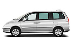 Driver side profile view of a 2011 Peugeot 807 SV Executive Minivan Stock Photo
