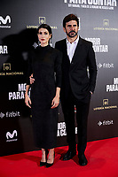 Nerea Barros and Hernan Zin attends to 'Morir para contar' film premiere during the Madrid Premiere Week at Callao City Lights cinema in Madrid, Spain. November 13, 2018. (ALTERPHOTOS/A. Perez Meca) /NortePhoto.com