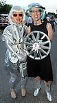 Wyn Bomar and Sarah Gish at the 2010 Art Car Ball at the Orange Show Monument & Warehouse Thursday May 06,2010.  (Dave Rossman Photo)