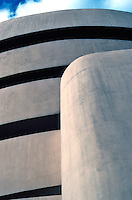 F.L. Wright: Guggenheim. Detail.  Photo '78.