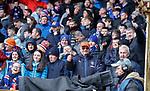 07.04.2019 Motherwell v Rangers: Rangers fans