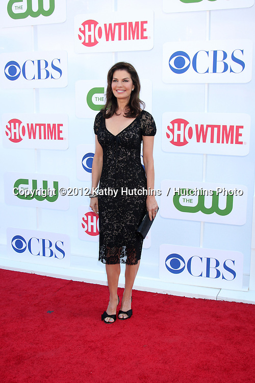 LOS ANGELES - JUL 29:  Sela Ward arrives at the CBS, CW, and Showtime 2012 Summer TCA party at Beverly Hilton Hotel Adjacent Parking Lot on July 29, 2012 in Beverly Hills, CA