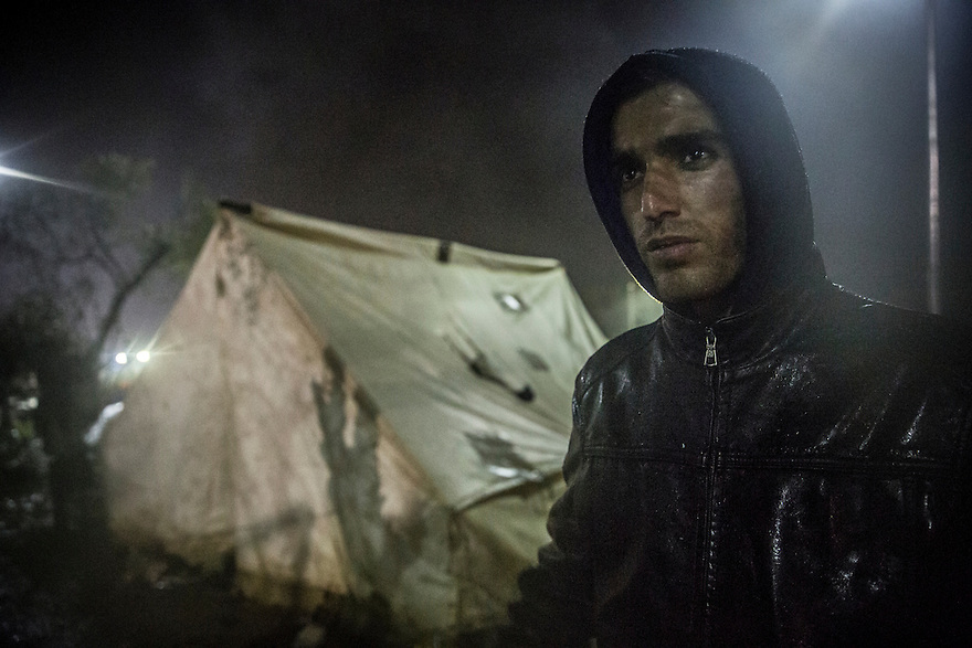 Mirwais Qayuomy, 24, worked for the Afghanistan Youth Organization. In Greece, he and his friends waited five days under pouring rain waiting to register with Greek authorities. During the trip from Turkey to Greece, the engine of the boat he was traveling in failed. Finally Greek Coast Guard rescued the immigrants and brought them to Lesbos island. &ldquo;Here there is no place for sleeping and there are a lot of people&rdquo; he explains. As many as 6000 people, he estimated, were camped outside the registration point. His six friends shared a tent for four, but woke up in the morning soaking wet. The rain had penetrated the tent and the grounds around had turned into a sea of mud. <br /> <br /> The last few years in Afghanistan, security had improved, he says, but since 2014, the situation dramatically declined. He says he was threatened by the Taliban, who asked him, &ldquo;Why do you give good information to the young people of Afghanistan?&rdquo; and insisted he leave the country.