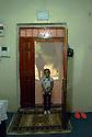 Turkey 2015<br />Little girl at the entrance of her home in Dogubayazit<br />Turquie 2015  <br />Petite fille a l'entr&eacute;e de la maison familiale a Dogubayazit