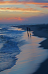 Cape May Point, Shoreline, Beach, Sunset