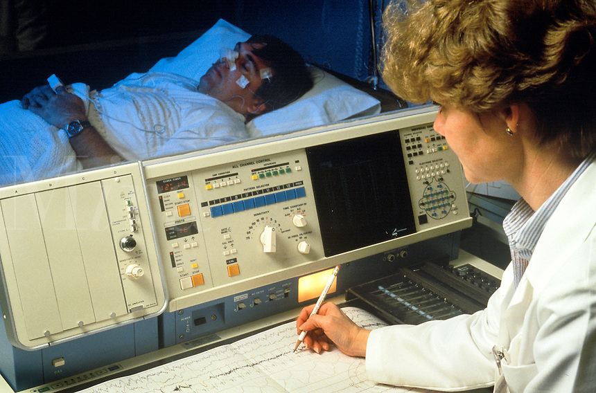 Sleep disorder lab.