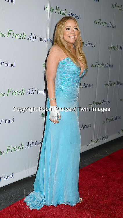 Mariah Carey attends The Fresh Air Fund Salute to Mariah Carey on May 29, 2014 at Pier Sixty at Chelsea Piers in New York, New York, USA.