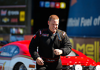 May 7, 2017; Commerce, GA, USA; NHRA pro mod driver Steve Jackson during the Southern Nationals at Atlanta Dragway. Mandatory Credit: Mark J. Rebilas-USA TODAY Sports