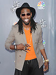 Delvin Choice arriving at the 'The Voice Top 12 Artist of Season 6 Red Carpet Event' held at Universal Citywalk Los Angeles, CA. April 15, 2014.