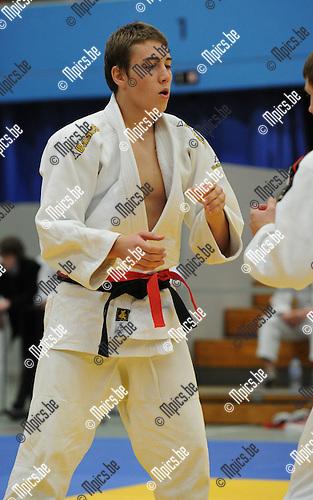 2010-10-23 / Judo / Vlaams Kampioenschap Herentals / Steven Van de Poel..Foto: Mpics