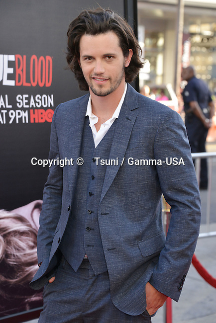 Nathan Parsons at The True Blood Finale Season 2014 at the TCL Chinese Theatre in Los Angeles.