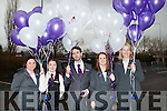 Staff members of the Rose Hotel leaving off some balloons to mark the opening of the New Rose Hotel,Tralee and remembering  on Friday l-r: Shona Houlihan,Heather Lee,Brian Keane,Shannon Murphy and Susan Kelly.