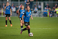 Kansas City, MO - Saturday May 27, 2017: Sydney Leroux during a regular season National Women's Soccer League (NWSL) match between FC Kansas City and the Washington Spirit at Children's Mercy Victory Field.