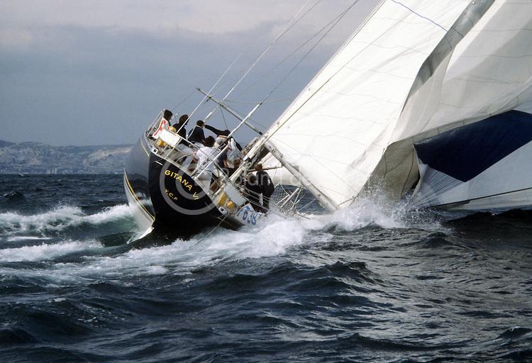 Semaine de Marseille 1978, parue dans Neptune Nautisme 178