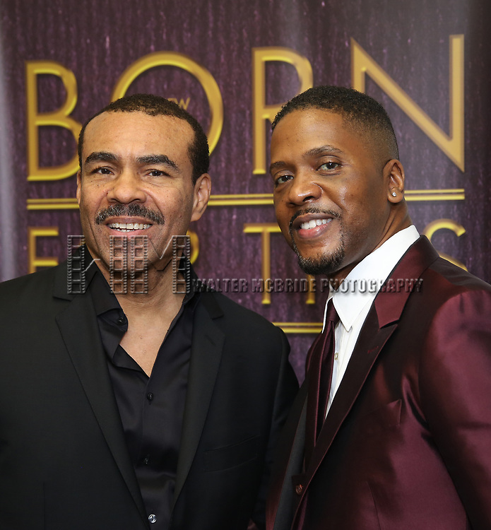 "backstage after a Song preview performance of the Bebe Winans Broadway Bound Musical ""Born For This"" at Feinstein's 54 Below on November 5, 2018 in New York City."