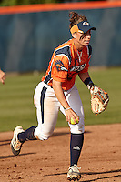 SAN ANTONIO, TX - APRIL 18, 2015: The University of Texas at El Paso Miners drop both games of a double header 7-3 & 5-4 to the University of Texas at San Antonio Roadrunners at Roadrunner Field. (Photo by Jeff Huehn)