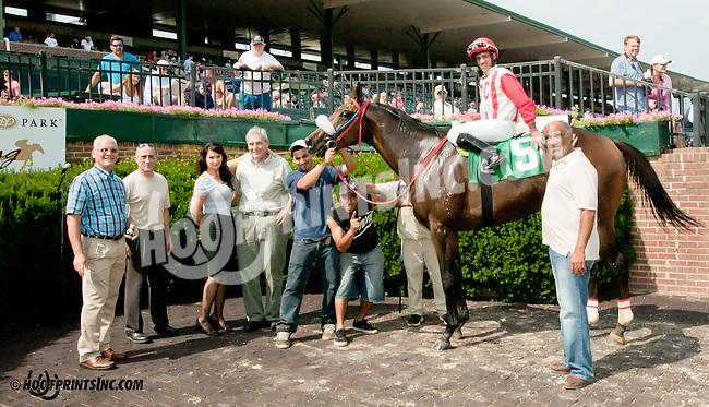Smash and Grab winning at Delaware Park on 7/20/13