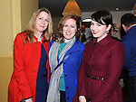 Deidre and Siobhan Murphy and Sarah Finnegan pictured at the St Feckins race night in the Waterside Inn. Photo: Colin Bell/pressphotos.ie