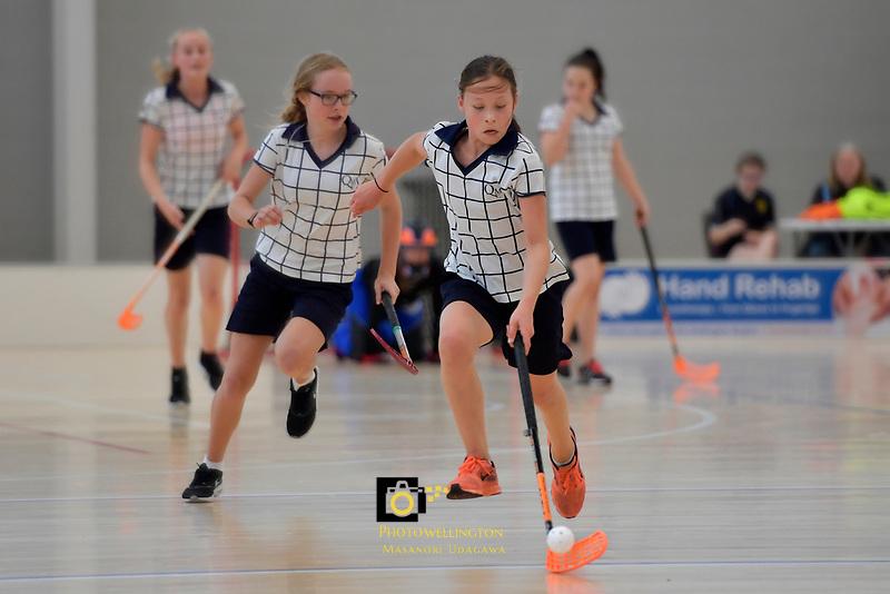 NZ Secondary School Floorball Championships at Walter Nash Centre, Lower Hutt, New Zealand on Thursday 30 March 2017.<br /> Photo by Masanori Udagawa<br /> www.photowellington.photoshelter.com.