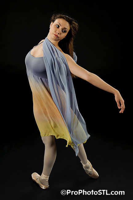 Missouri Ballet Theatre studio shots in color