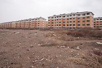Suburban Building Development in Huinong, China.  © LAN