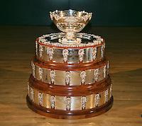 29-01-2014,Czech Republic, Ostrava, Cez Arena, Daviscup Czech Republic vs Netherlands, The Davis Cup<br /> Photo: Henk Koster