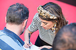 Dulceida signs autographs in his book attends to premiere of 'La Momia' at Cines Callao in Madrid, May 29, 2017. Spain.<br /> (ALTERPHOTOS/BorjaB.Hojas)