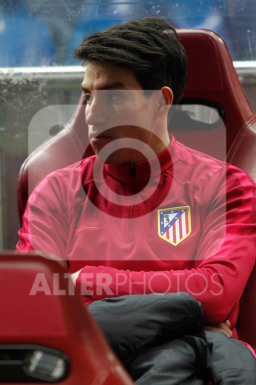 Atletico de Madrid's Nicolas Gaitan during Champions League 2016/2017 Round of 16 2nd leg match. March 15,2017. (ALTERPHOTOS/Acero)