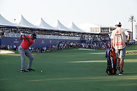 Jon Rahm (ESP) during the final round of the DP World Championship, Earth Course, Jumeirah Golf Estates, Dubai, UAE. 24/11/2019<br /> Picture: Golffile | Phil INGLIS<br /> <br /> <br /> All photo usage must carry mandatory copyright credit (© Golffile | Phil INGLIS)