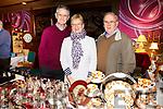 Enjoying the Antique Fair at the Grand Hotel were Joe Sheehan, Ailish O'Sullivan, Tom O'Sullivan from Killarney