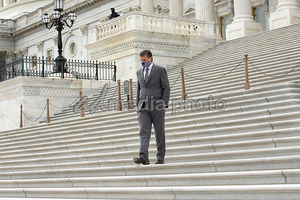 United States Senator Martin Heinrich (Democrat of New Mexico) leaves the United States Capitol in Washington D.C., U.S. on Thursday, May 21, 2020.  Credit: Stefani Reynolds / CNP/AdMedia