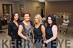 Therese Ferris, Denise Casey, Brenda O'Brien and Liz Carroll from Ruby Tuesday hair salon Killarney