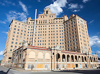 Abandoned Baker Hotel in Mineral Wells, TX
