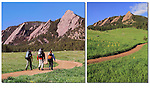 Sunrise hike at Chautauqua Park.<br /> Outside imagery offers Boulder photo tours and Boulder hikes.  Click the above CONTACT button for inquiries. Boulder tours.