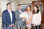 Congratulations to proud parents Mikey and Genevieve Walsh with 8 week old baby Shauna who was christened last Saturday afternoon, pictured here for family celebrations in Leen's Hotel, Abbeyfeale, also pictured are god parents Gerard Walsh and Joan Flanagan