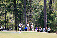 Haylee Harford (USA) on the 9th during the second round of the Augusta National Womans Amateur 2019, Champions Retreat, Augusta, Georgia, USA. 04/04/2019.<br /> Picture Fran Caffrey / Golffile.ie<br /> <br /> All photo usage must carry mandatory copyright credit (&copy; Golffile | Fran Caffrey)