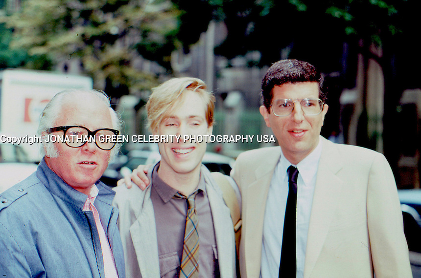 Sir Richard Attenborough Jeffrey Hornaday & Marvin Hamlisch 1984 by Jonathan Green