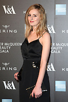 Laura Carmichael arriving for the Alexander McQueen: Savage Beauty Fashion Gala at the V&A, London. 12/03/2015 Picture by: Alexandra Glen / Featureflash
