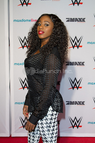 Trinity &quot;Naomi&quot; Fatu attending the WWE Live 2015 tour held at o2 World, Hamburg, Germany, 15.04.2015. <br />