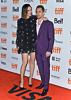 "08 September 2019 - Toronto, Ontario Canada - Leslie Bibb, Sam Rockwell. 2019 Toronto International Film Festival - ""Jojo Rabbit"" Premiere held at Princess of Wales Theatre. <br /> CAP/ADM/BPC<br /> ©BPC/ADM/Capital Pictures"
