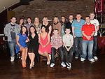Ellen Branigan celebrating her 21st birthday in McHugh's with all her cousins. Photo:Colin Bell/pressphotos.ie