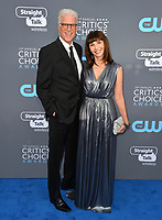 Ted Danson &amp; Mary Steenburgen at the 23rd Annual Critics' Choice Awards at Barker Hangar, Santa Monica, USA 11 Jan. 2018<br /> Picture: Paul Smith/Featureflash/SilverHub 0208 004 5359 sales@silverhubmedia.com