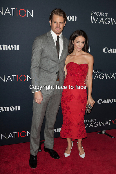 NEW YORK, NY - OCTOBER 24, 2013: Josh Pence and Abigail Spencer attend the Premiere Of Canon's Project Imaginat10n Film Festival at Alice Tully Hall on October 24, 2013 in New York City. <br /> Credit: MediaPunch/face to face<br /> - Germany, Austria, Switzerland, Eastern Europe, Australia, UK, USA, Taiwan, Singapore, China, Malaysia, Thailand, Sweden, Estonia, Latvia and Lithuania rights only -