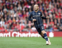 Manchester City's David Silva<br /> <br /> Photographer Rich Linley/CameraSport<br /> <br /> The Premier League - Liverpool v Manchester City - Sunday 7th October 2018 - Anfield - Liverpool<br /> <br /> World Copyright &copy; 2018 CameraSport. All rights reserved. 43 Linden Ave. Countesthorpe. Leicester. England. LE8 5PG - Tel: +44 (0) 116 277 4147 - admin@camerasport.com - www.camerasport.com