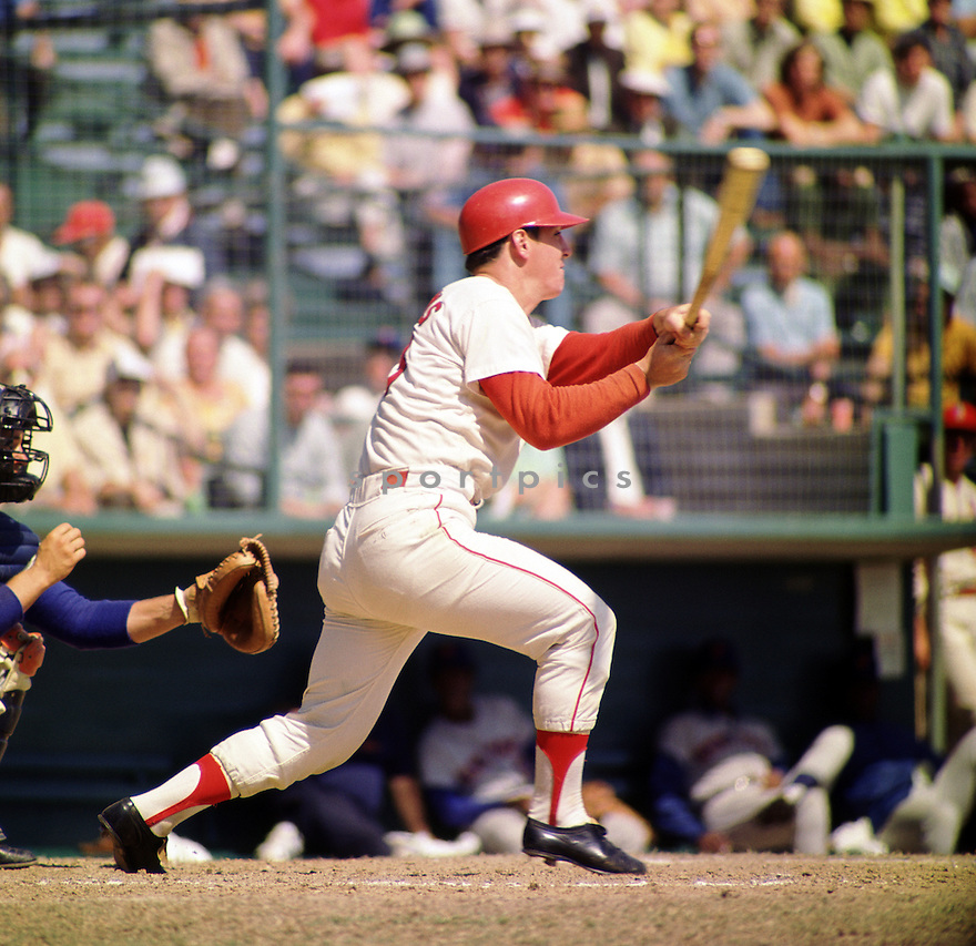 St. Louis Cardinals Ted Simmons (23) from his 1971 season. Ted Simmons played for 21 years with 3 different teams and was a 8-time All-Star.(SportPics)