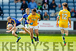 Philip O'Connor Kerry in action against Adam Lynch Meath in the All Ireland Junior Football Final at O'Moore Park, Portlaoise on Saturday.