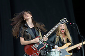 Jun 28, 2013: HAIM - Glastonbury Festival Day One